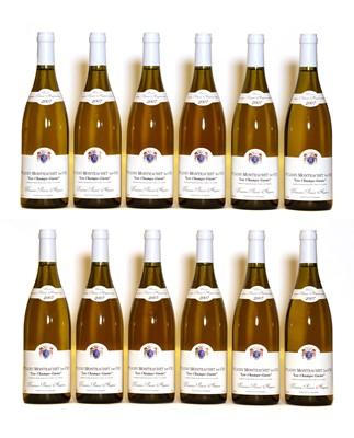 Lot 42 - Puligny Montrachet, 1er Cru, Les Champs Gains, Domaine Potinet Ampeau, 2007, twelve bottles (boxed)