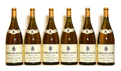 Lot 43 - Chablis, 1er Cru, Montee de Tonnerre, Jean-Paul Droin, 1996, six magnums (boxed)