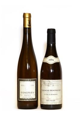 Lot 30 - Chassagne Montrachet, 1er Cru, La Romanee, Paul Pillot, 2006, one bottle and one various other