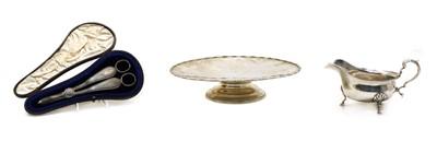 Lot 31 - Three silver items