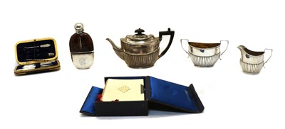 Lot 4 - Silver and other items