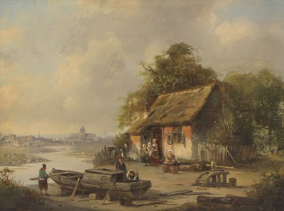 Lot 66 - Jacques Francois Carabain (Dutch, 1834-1933)