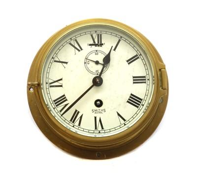Lot 69 - A Smith Astral bulk head clock