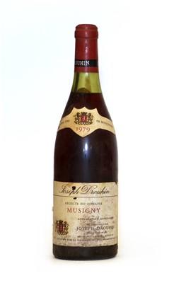 Lot 64 - Musigny, Grand Cru, Joseph Drouhin, 1979, one bottle