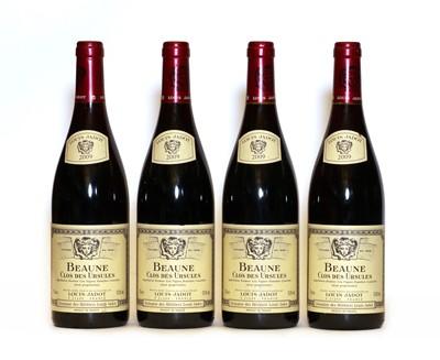 Lot 73 - Beaune, 1er Cru, Clos des Ursules, Les Vignes Franche, Domaine des Heritiers, 2009, four bottles