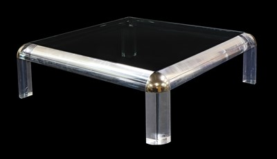 Lot 456 - A Lucite coffee table