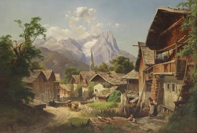 Lot 286 - Anton Hansch (Austrian, 1813-1876)