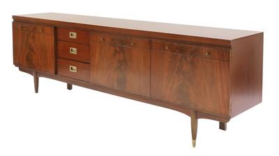 Lot 477 - A Greaves & Thomas mahogany sideboard