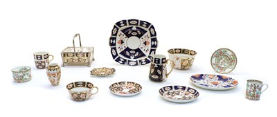 Lot 94 - Assorted early 20th century and later Crown Derby Imari pattern teawares