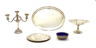 Lot 53 - A quantity of silver plated items