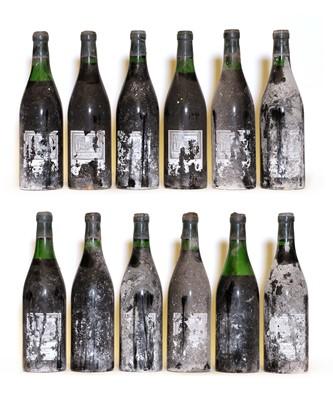 Lot 75 - Charmes Chambertin, 1966, Berry Bros & Rudd bottling, twelve bottles