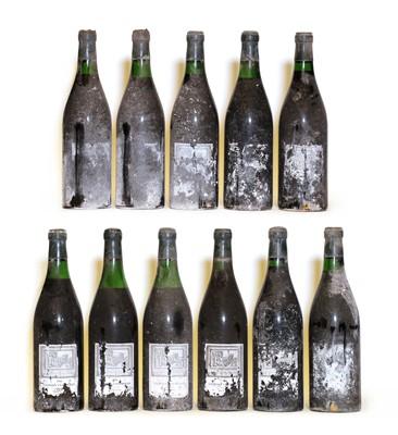 Lot 76 - Charmes Chambertin, 1966, Berry Bros & Rudd bottling, eleven bottles