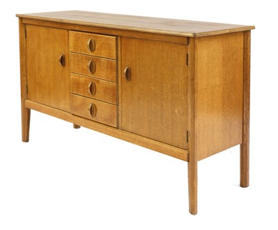 Lot 454 - A Gordon Russell oak sideboard
