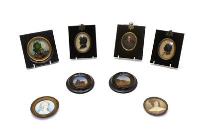 Lot 68 - Eight various miniatures