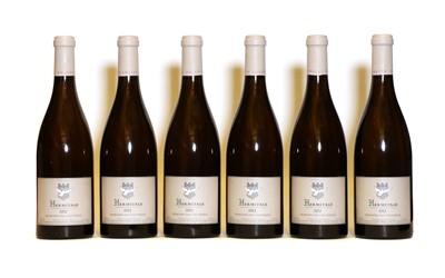 Lot 32 - Hermitage Blanc, Domaine du Colombier, 2012, six bottles