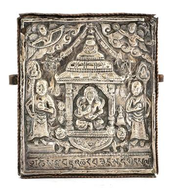 Lot 135 - A Tibetan gau box