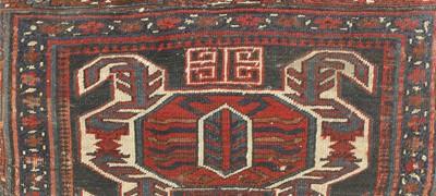 Lot 72 - A kilim ottoman