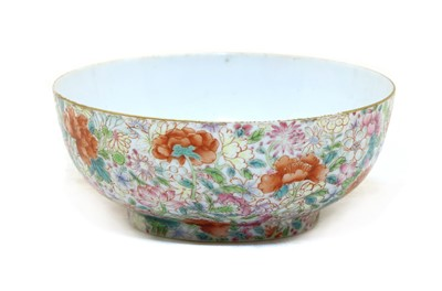 Lot 86 - A famille rose tea bowl