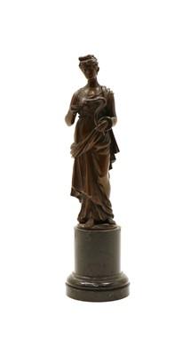 Lot 78 - A bronze bust