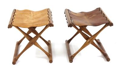 Lot A pair of 'Guldhøj' folding stools