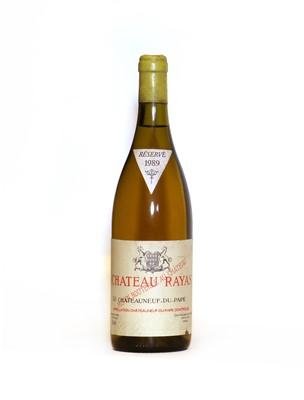 Lot 33 - Chateauneuf-du-Pape Blanc, Chateau Rayas, 1989, one bottle