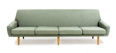 Lot A Danish four-seater sofa
