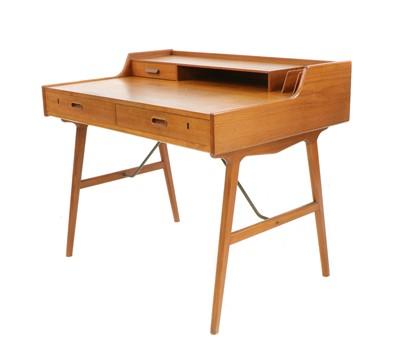 Lot A Danish teak Model 56 desk