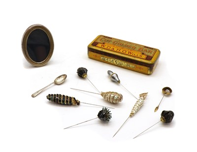 Lot 20 - A collection of hat pins