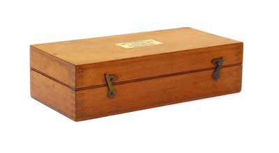 Lot 113 - A cased 'Sikes' Hydrometer