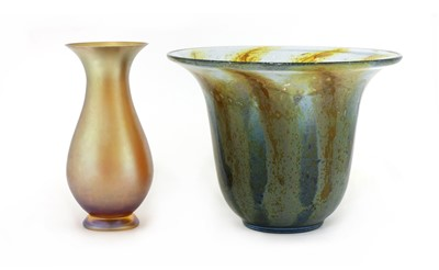 Lot 530 - Two WMF glass vases