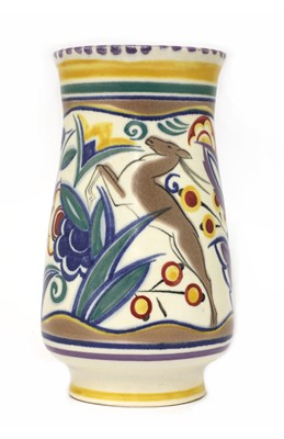 Lot 502 - A Poole Pottery vase