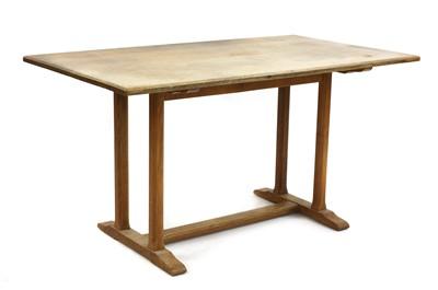 Lot 452 - A Gordon Russell 'Tilden' oak refectory table