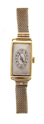 Lot 133 - A ladies' 18ct gold Rolex 'Prima' watch, c.1929.