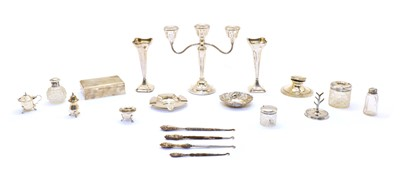 Lot 43 - Silver items