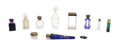 Lot 50 - A collection of scent bottles