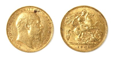 Lot 42 - Coins, Great Britain, Edward VII (1901-1910)