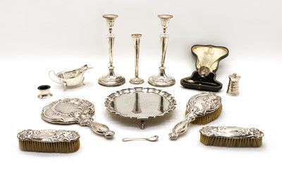 Lot 67 - A collection of silver