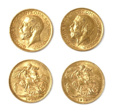 Lot 56 - Coins, Great Britain, George V (1910-1936)
