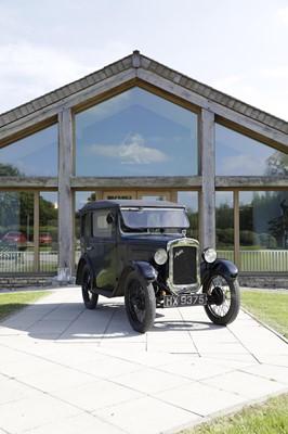 Lot 1930 Austin Seven Box Saloon