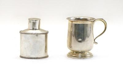 Lot 7 - A silver mug