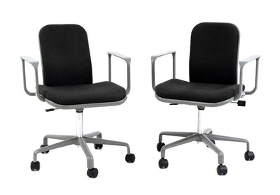 Lot 506 - A pair of 'Supporto' desk chairs