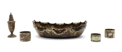 Lot 15 - A Continental silver bowl
