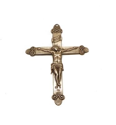 Lot 14 - A Silver Crucifix
