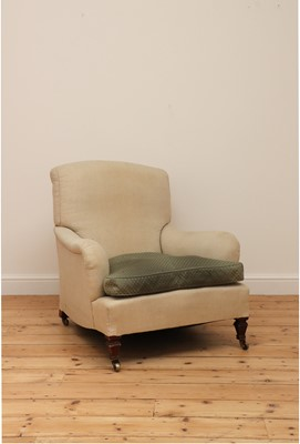 Lot 485 - An armchair in the manner of Howard & Sons