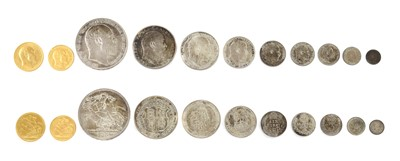 Lot 34 - Coins, Great Britain, Edward VII (1901-1910)
