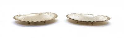 Lot 61 - A pair of Edwardian silver dishes