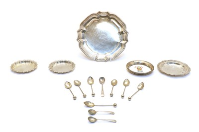 Lot 54 - A Mexican silver waiter