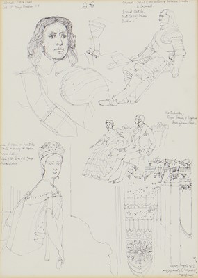 Lot 155 - *Leonard Rosoman RA (1913-2012), after Thomas Sully and others