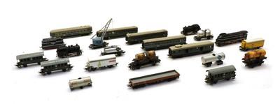 Lot 61 - An assortment of Marklin model railway trains