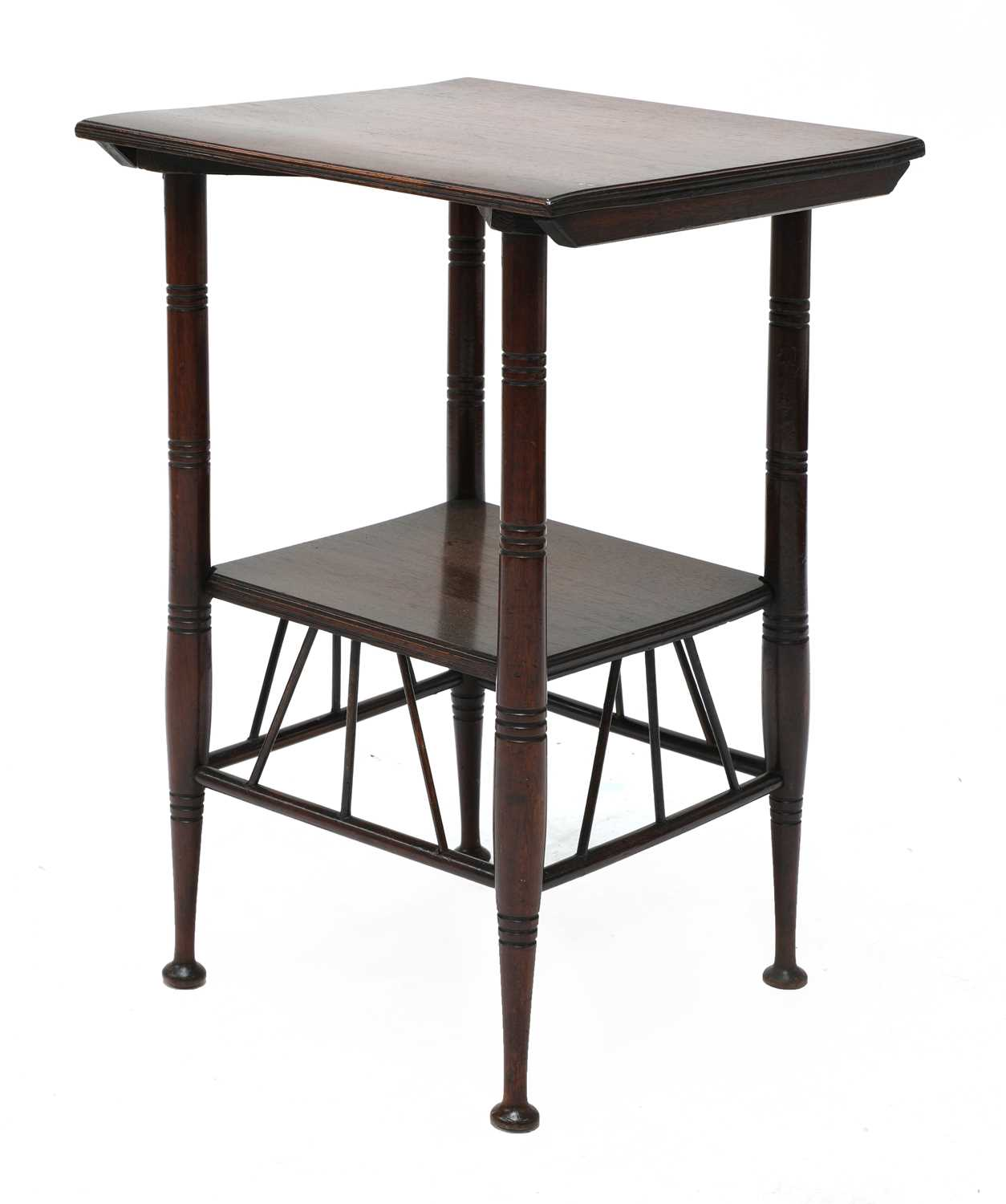Lot 40 - An Aesthetic Movement 'Thebes' mahogany side table